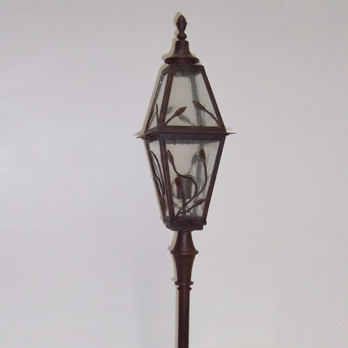 Baroque 1LT Lamp Post