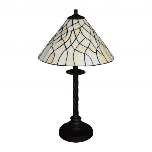Twirl Lead Table Lamp