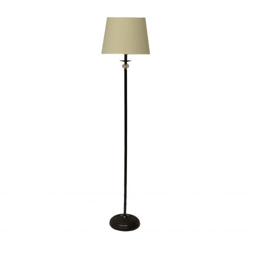 Emily 1LT White Floor Lamp
