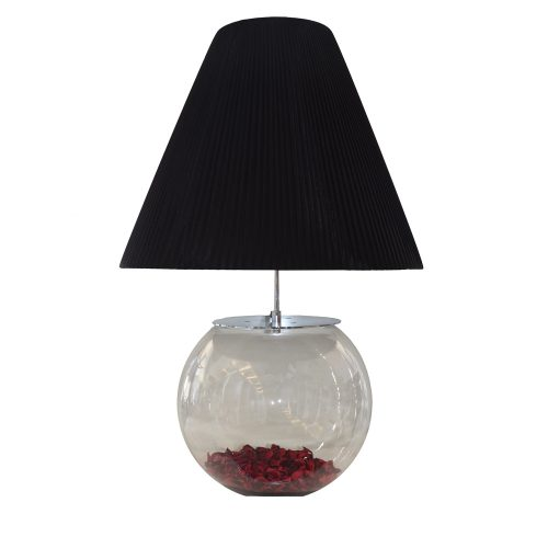 Santonia Black Table Lamp