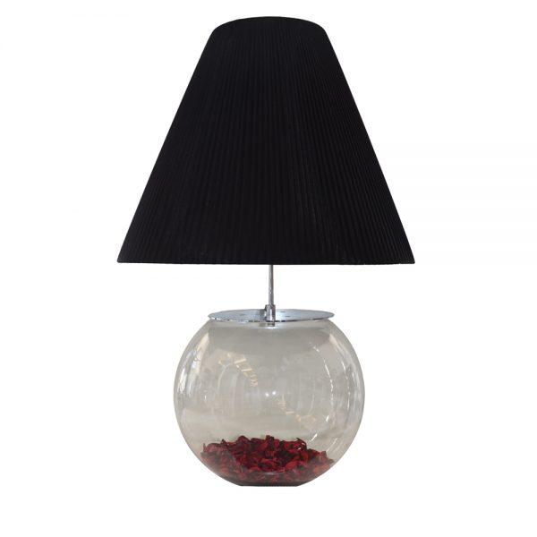 Santonia Black Table Lamp