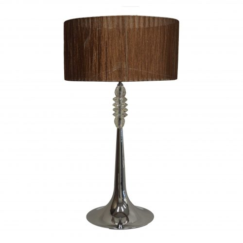 Griffen Chrome Table Lamp