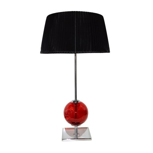 Saturno Red Table Lamp