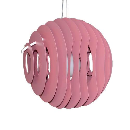 Ringo 1LT Pink Pendant
