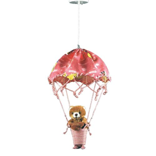 Teddy Bear Red Hot Air Balloon
