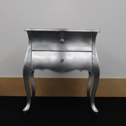 Yasmin Silver Cabinet