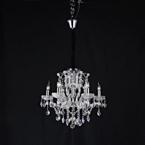 Veritas 6LT Crystal Chandelier