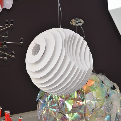 Ringo Large White Pendant
