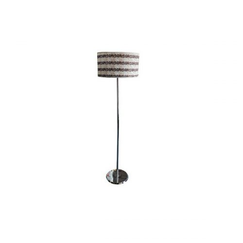Libra White Pattern Floor Lamp