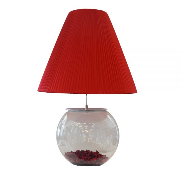 Santonia Red Table Lamp